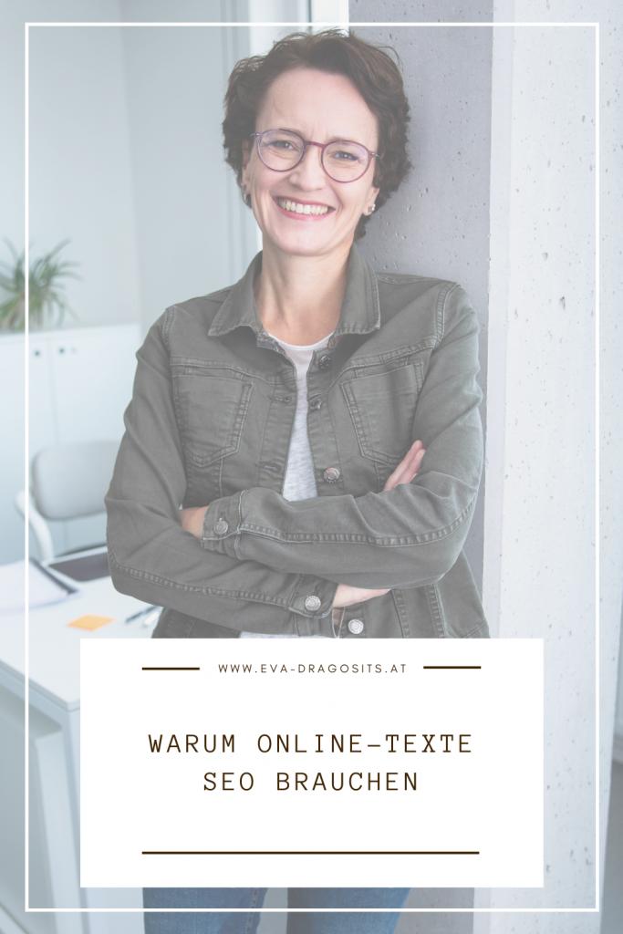 Warum Online-Texte SEO brauchen, Eva Dragosits, Texterin