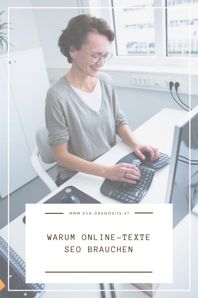 Blogbeitrag Warum Online-Texte SEO brauchen, Eva Dragosits, Texterin