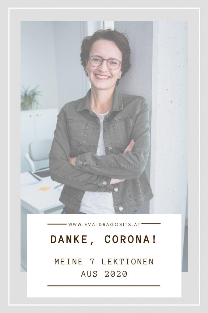 Eva Dragosits, Texterin, Blogbeitrag Danke Corona